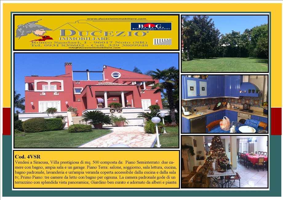 Villa/Casa singola Siracusa #4VSR
