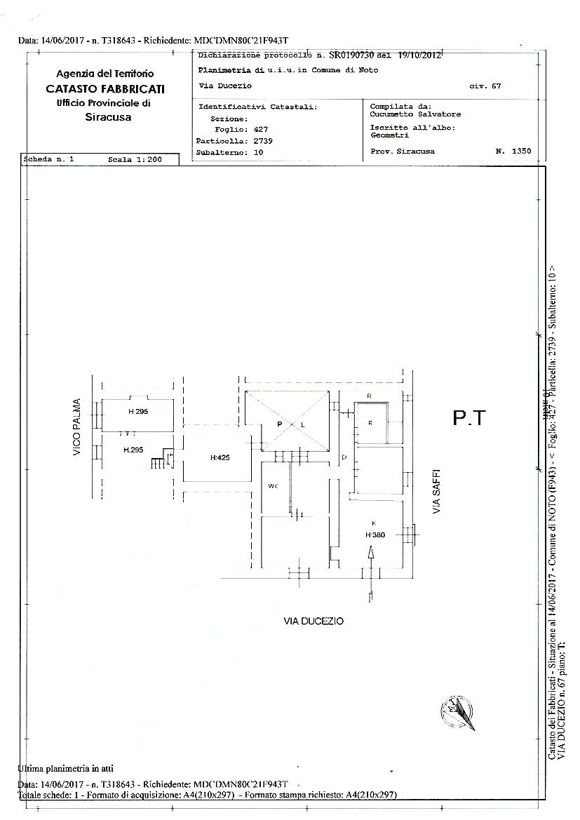 For sale Detached house Noto  #68C n.12