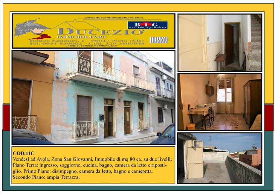 Villa/Casa singola Avola #11C