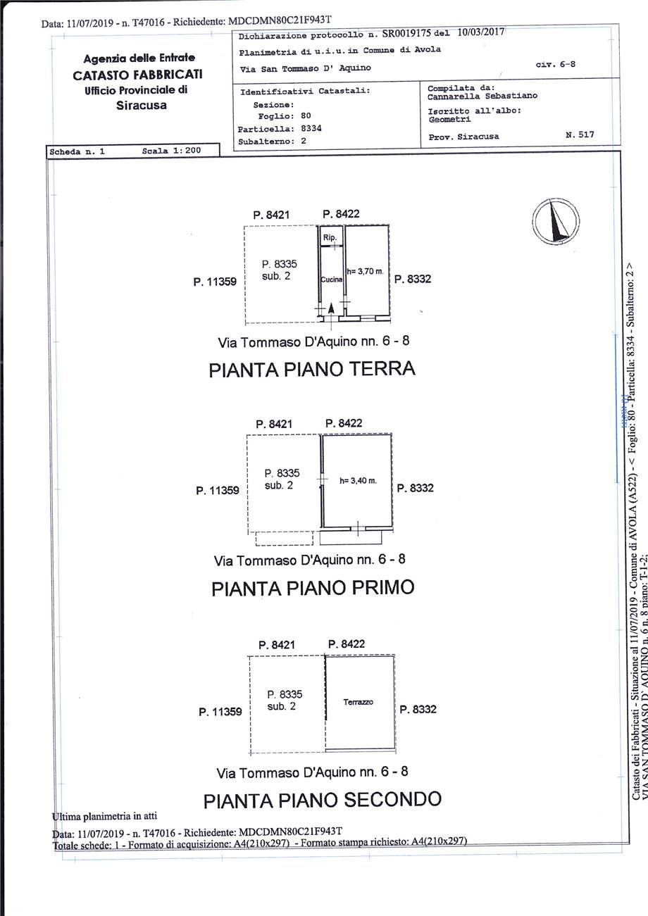 Verkauf Villa/Einzelhaus Avola  #11C n.10