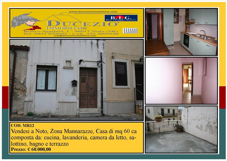 For sale Detached house Noto  #MR12 n.1