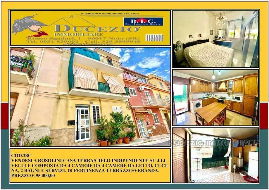 Villa/Casa singola Rosolini #28C
