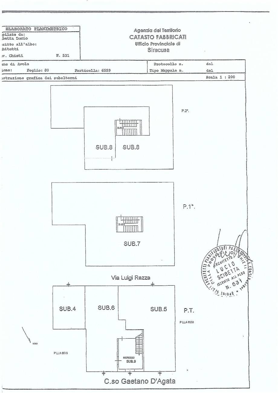 For sale Building Avola  #66C n.13
