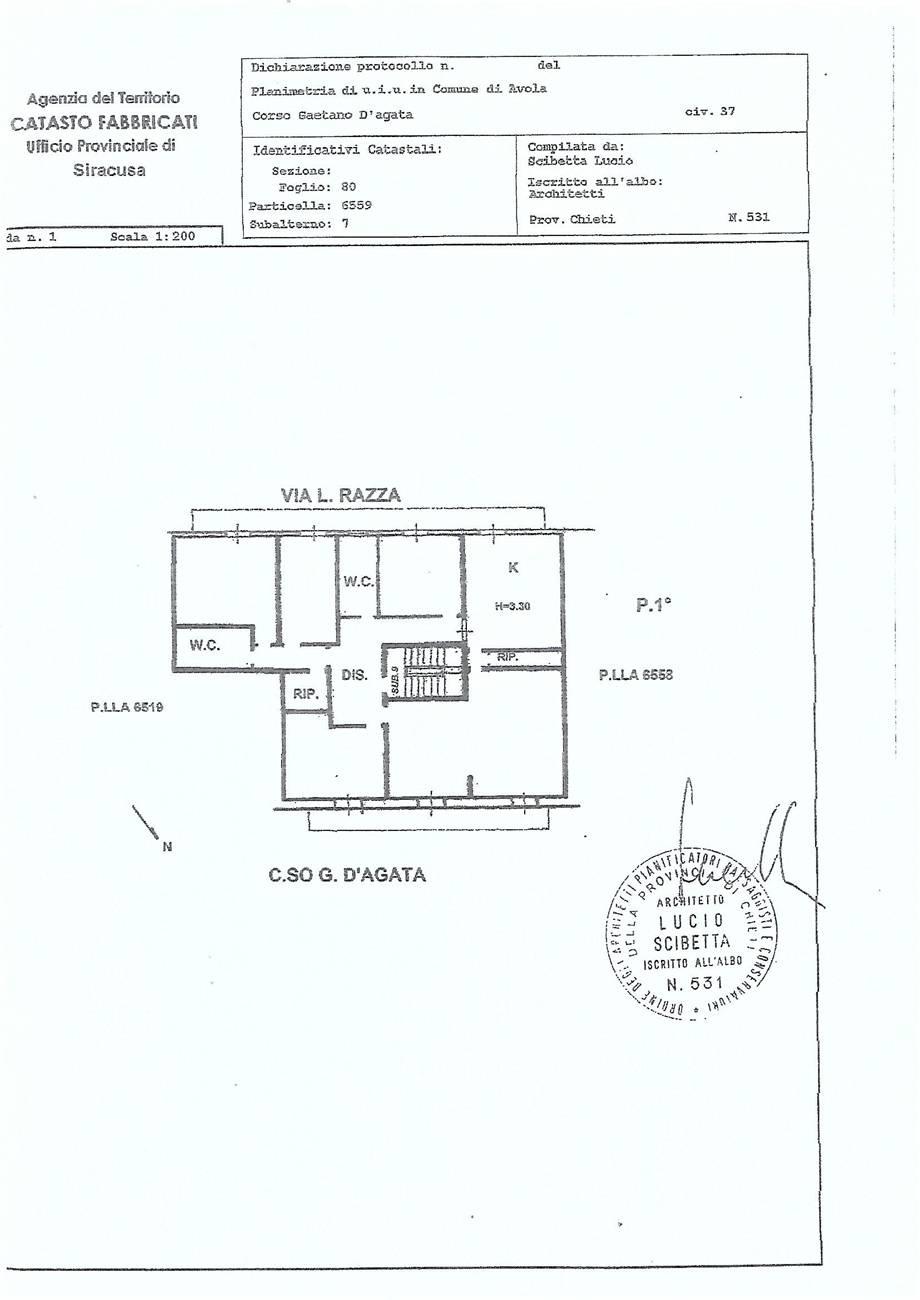 For sale Building Avola  #66C n.15