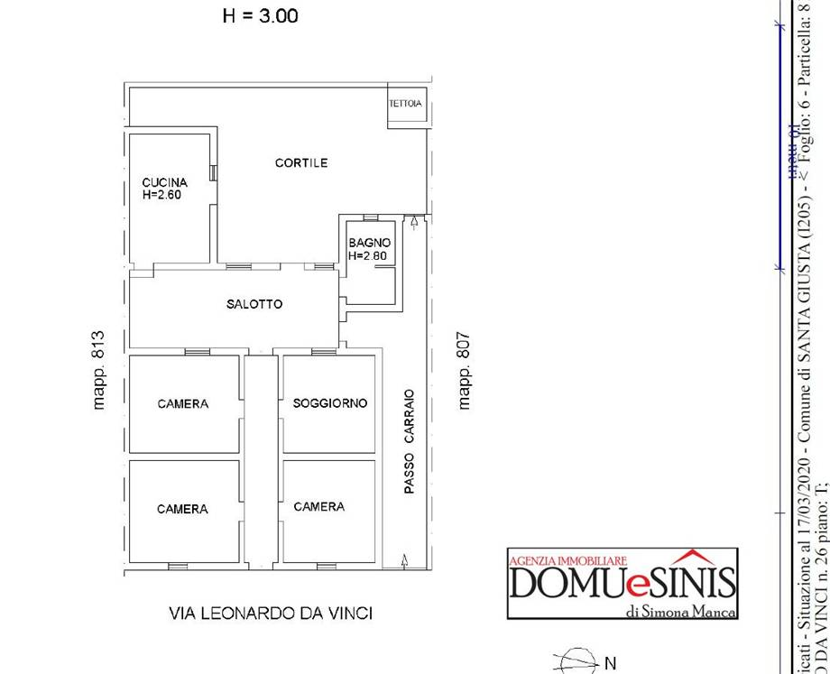 Venta Villa/Casa independiente Santa Giusta  #28 n.7