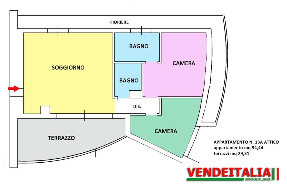 For sale Flat Fino Mornasco  #516 n.14