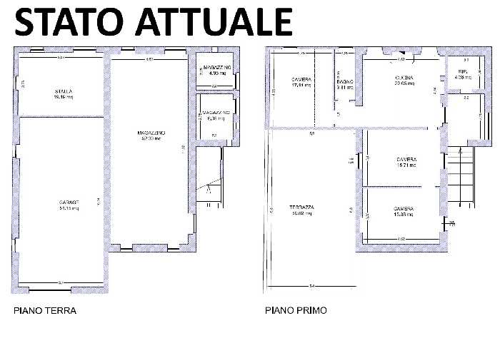 For sale Rural/farmhouse Montedinove  #M9.01 n.6