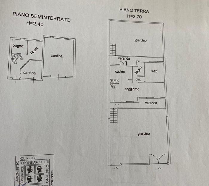 Venta Villa/Casa independiente Cuglieri SANTA CATERINA DI PITTINU #MAR96 n.10