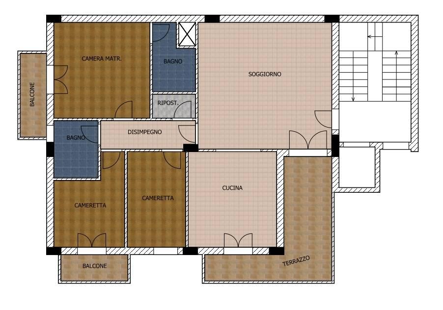 Vendita Appartamento Misilmeri Portella di Mare paese #A223 n.8