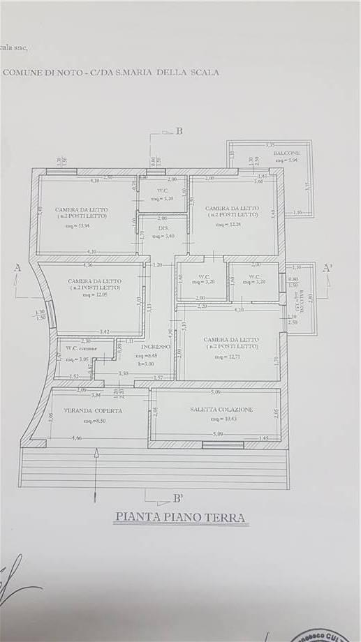 Venta Villa/Casa independiente Noto MADONNA DELLA SCALA #6VNC n.6