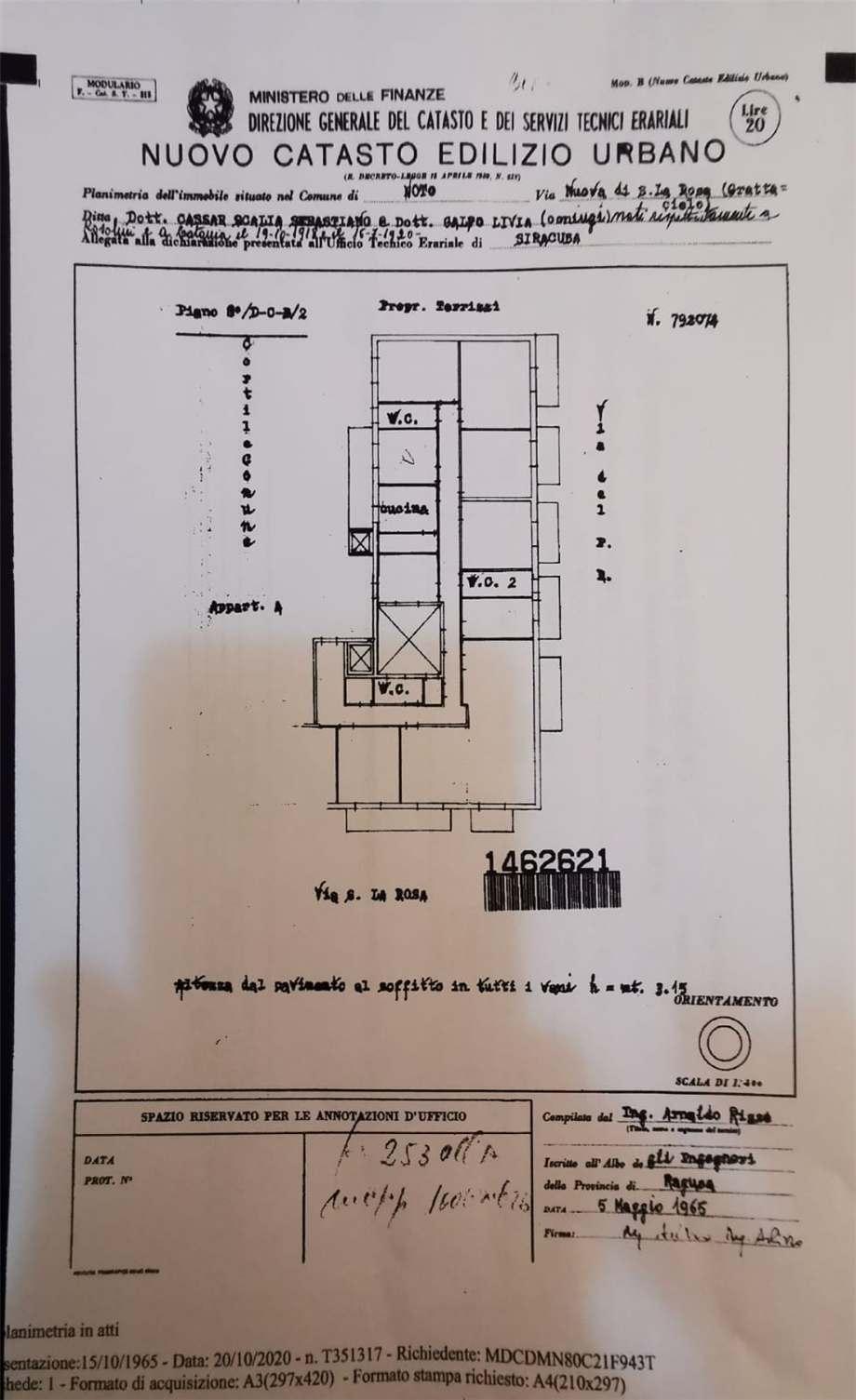 Verkauf Appartement Noto  #57A n.9